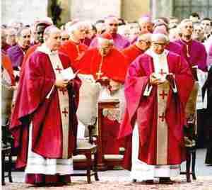 Eglise catholique rouge et pourpre 01